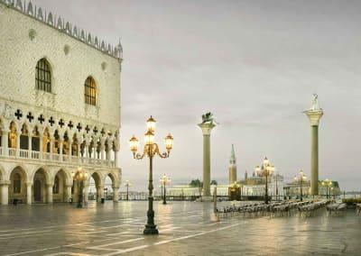 San Marco Dawn, Venice, Italy, 2012