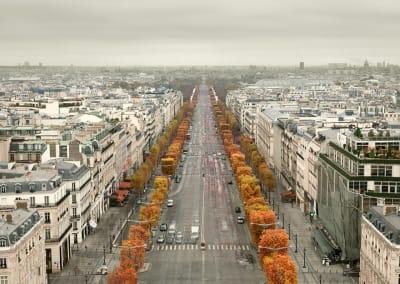 Avenue Des Champs-Elysées, Paris, France, 2012