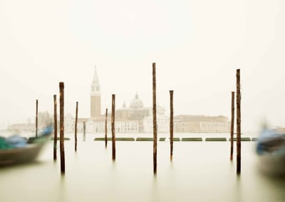 San Giorgio Maggiore With Gondola Station Venice, 2012