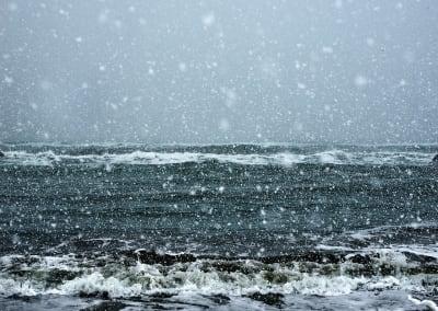 Sasameyuki, Sea of Okhotsk, Hokkaido, Japan, 2017