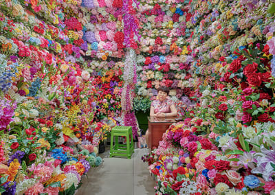 David Burdeny – Flower Vendor, Yiwu, China 2019