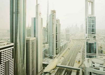 Dubai, Sheikh Zayed Road, UAE, 2009