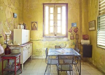 Yellow Kitchen, Havana, Cuba, 2014