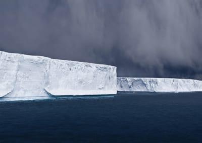 Tabulars In Hope Bay, Antarctica, 2007