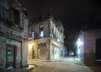Old Havana Corner (Night), Havana, Cuba, 2014