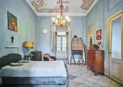 Blue Bedroom, Havana, Cuba, 2014