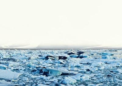 Ice Filled Lake, Iceland, 2008