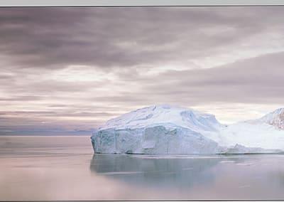 Midnight Sun, Ilulissat Icefjord, 2007