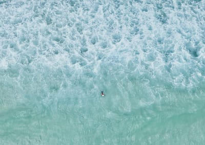 Surfer, Perth, WA, 2016