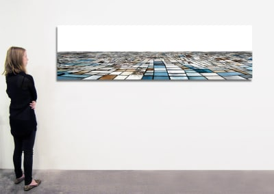 "Salinas - Seasonal Sequence, 29.5"" x 106"", Installation - Georg Kuettinger"