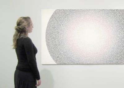 Aura 6, Installation - Aj Oishi at Kostuik Gallery