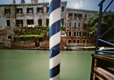 Striped Pole, Venice, 2007