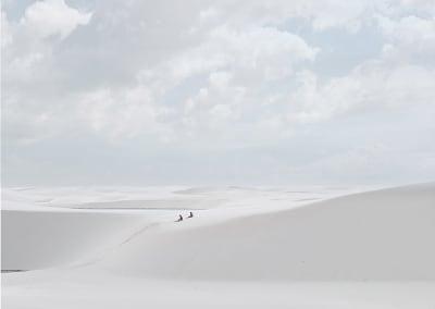 Desert Walk (Resting), Lençóis Maranhenses, Brazil 2013