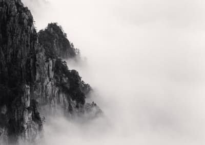 Huangshan Mountains, Study 6, Anhui, China