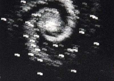 E=MC2 as Whirlpool Galaxy M51, 2001