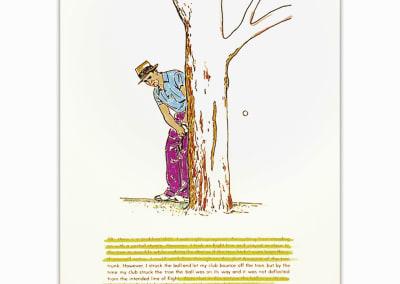 Golf Lesson pg.107, Edition 5/20, 2000. Bill McCarroll