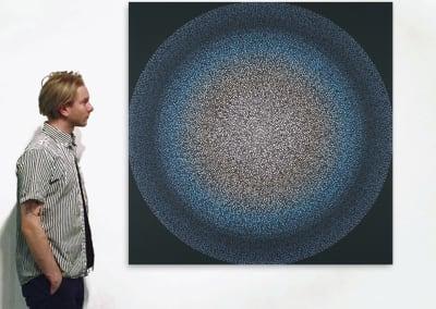 Becoming Whole 5, Installation - AJ Oishi at Kostuik Gallery
