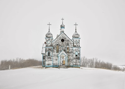 Church on a Hill, Saskatchewan, CA