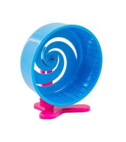 Игрушка для грызунов Колесо литое c подставкой, 140мм
