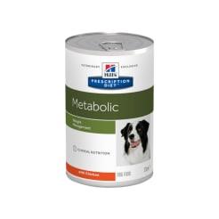 Влажный диетический корм для собак Hill's Prescription Diet Metabolic способствует снижению и контролю веса, с курицей 0.37кг