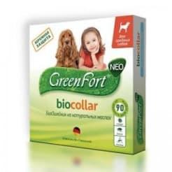 Ошейник от блох GreenFort Neo для средних пород собак
