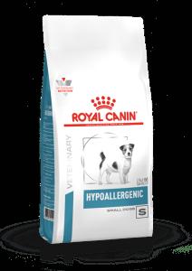 Royal Canin HYPOALLERGENIC SMALL DOG 1кг, Диета для собак менее 10 кг с пищевой аллергией или непереносимостью