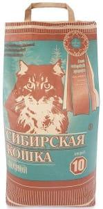 Наполнитель Сибирская Кошка лесной, 10л