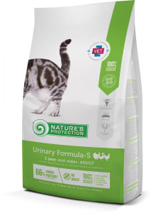 Nature Protection уринари  сухой корм для кошек со вкусом птицы,  0.4кг