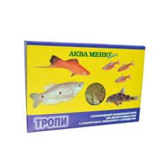Корм для рыб АКВА Меню Тропи хлопья