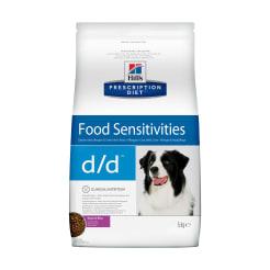 Корм для собак Hill's PD d/d Food Sensitivities, 5кг