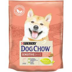 Сухой корм Purina Dog Chow Sensitive для взрослых собак с чувствительным пищеварением, лосось, 0.8кг