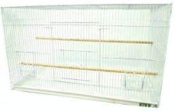 Клетка для птиц № 1 вольер ( 60 * 41 * 41 ) комплект 601