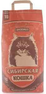 Наполнитель Сибирская Кошка бюджет, 10л
