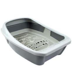 Туалет Сиб Кошка Евро глубокий с сеткой и бортом