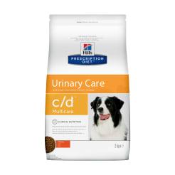 Сухой диетический корм для собак Hill's Prescription Diet c/d Multicare Urinary Care при профилактике мочекаменной болезни (мкб) с курицей, 2 кг