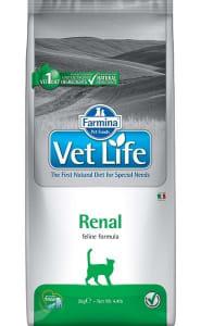 Сухой корм для кошек Farmina Vet Life Renal при почечной недостаточности, 0.4кг