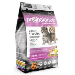ПРОБаланс Diet сухой корм для котят  с вкусом цыплёнка, 0,4кг