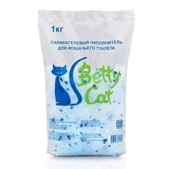 Гигиенический наполнитель Betty Cat силикагель, 1кг