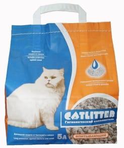 Наполнитель Сибирская Кошка Catlitter впитывающий, 5л