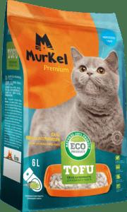Murkel гигиенический наполнитель для кошачьего туалета тофу, 6л