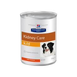 Влажный диетический корм для собак Hill's Prescription Diet k/d Kidney Care при хронической болезни почек, 0.37кг