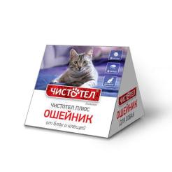 Ошейник от блох Чистотел домик для кошек
