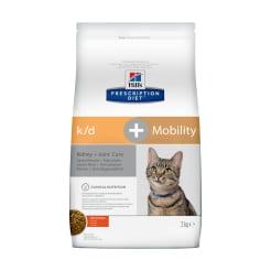 Сухой для кошек Hill's Prescription Diet k/d, Mobility Kidney, Joint Care, 2кг