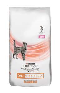 Сухой корм Purina Pro Plan Veterinary Diets OM для кошек с ожирением, 1.5 кг