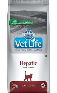 Сухой корм для кошек Farmina Vet Life Hepatic при заболевании печени, 0.4 кг