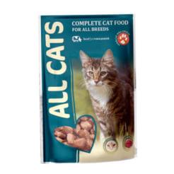 All Cats пауч для кошек со вкусом говядины, 0.085кг