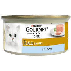 Консервы для кошек Purina Gourmet Gold, тунец, 0.085кг