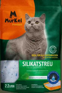 Силикагелевый наполнитель Murkel с ароматом скошенной травы, 1кг