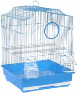 Клетка для птиц № 1 ( 47 * 36 * 55,5 ) фигурная 612