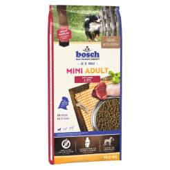 Bosch Mini Adult с ягнёнком и рисом сухой корм для собак, 15кг